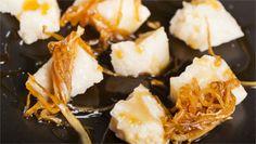 Parmigiano reggiano con indivia caramellata