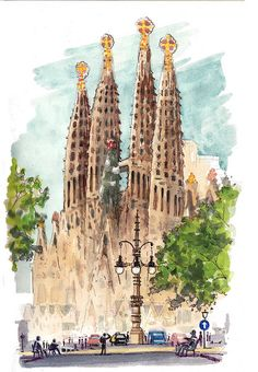 SagradaFamilia by Joaquin Gonzalez Dorao, via Flickr