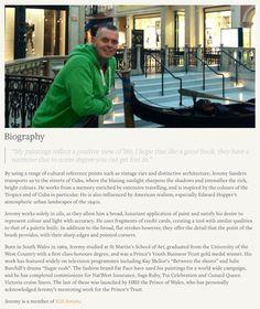 Jeremy Sanders - Biography.