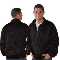 New York Giants Track Full Zip Jacket - Black - $48.99