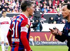 With that gesture, I would be angry to.. #basti #VFBFCB #07.02.15