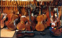 Amnon Weinstein, a violin maker from Tel Aviv, has collected violins of former concentration camp inmates, restored them, and researched the history of their owners.