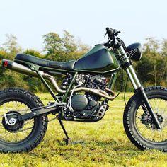 Honda Scrambler, Scrambler Custom, Scrambler Motorcycle, Tw200, Honda Bikes, Motorcycle Types, Cafe Racer Bikes, Cool Sports Cars, Motor Scooters
