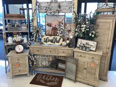 Not all decor must be seasonal. Hobby Lobby sales adorable things which you cannot find anywhere else and this farmhouse decor doesn't disappoint. Far...