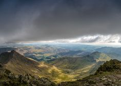 Cloud Cover - over Snowdon North Wales, Clouds, Mountains, Cover, Nature, Travel, Naturaleza, Viajes, Destinations