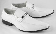 white wedding shoes for men