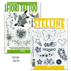 "Tattoo Stelline Little Stars and Tattoo Fiori Tattoo Flowers Book by Superior Tattoo Equipment. $24.00. Tattoo Fiori Tattoo Flowers-From the publishers of ""Idea Tattoo"" and ""Colour Tattoo"" comes this magazine of tattoo designs and flash, featuring a wide variety of flowers: large and small, simple and complex, realistic and fanciful, many different species. Black and white. 66 Pages--------Tattoo Stelline Little Stars-From the publishers of ""Idea Tattoo"" and ""C..."