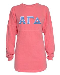 59506a6319df17 Alpha Gamma Delta Twill Letter Jersey -  54.00 with vintage print on back  Many other twill letter and jersey colors available!