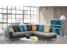 Canapé d'angle MOREA mutlicolore design scandinave: http://www.basika.fr/meuble/morea-salons-canapes-fixes-canape-d-angle-a-droite/100046173.htm