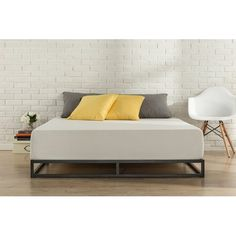 Latitude Run St. Germain Platform Bed These come in twin size and can be combined to make a king.