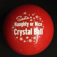 IU Press Blog | Santa's Crystal Ball reveals who's naughty or nice at IUP