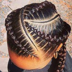 braid hairstyles bun Beauty #braidstyles Ethnic Hairstyles, Trending Hairstyles, Short Bob Hairstyles, Cool Haircuts, Easy Hairstyles, Bob Braids, Ghana Braids, Loose Braids, Micro Braids
