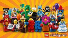 LEGO 71021 Collectible Minifigures Series 18 : Les (vrais) visuels officiels: LEGO vient de publier les visuels officiels des 17… #LEGO