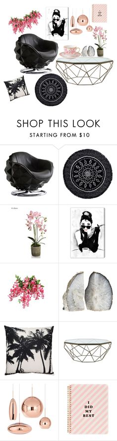 """Because on Sunday's I drink tea❤️"" by maijah ❤ liked on Polyvore featuring interior, interiors, interior design, home, home decor, interior decorating, Andrew Martin, The Beach People, Oliver Gal Artist Co. and Jayson Home"
