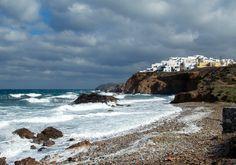 Grotta in Naxos town, Naxos Island, Greece. photo by Ηλιασ