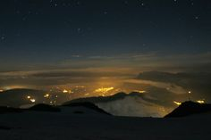 vedere spre valea mont blanc Northern Lights, Celestial, Sunset, Classic, Nature, Outdoor, Mont Blanc, Derby, Outdoors