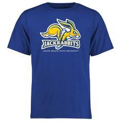 South Dakota State Jackrabbits Big & Tall Classic Primary T-Shirt - Blue