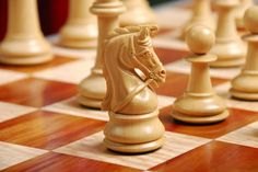 Deluxe Wooden Chess Set | Heavily Weighted Double Queens