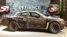 Dodge Charger rules the post-apocalyptic wasteland - Featured in new Syfy Show Defiance - Road & Track