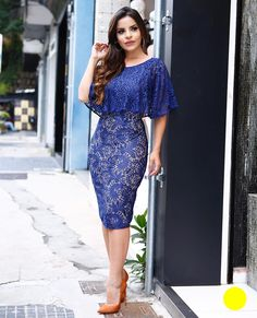 Pin by Larissa Alves on Look Menina Mulher que Sabe o que Quer! Pink Prom Dresses, Modest Dresses, Simple Dresses, Elegant Dresses, Casual Dresses, Dresses For Work, Short Dresses, Dress Skirt, Lace Dress