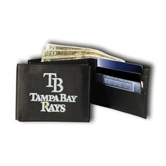 Tampa Bay Rays Mlb Embroidered Billfold Wallet