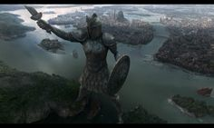 Statue of liberty in game of thrones