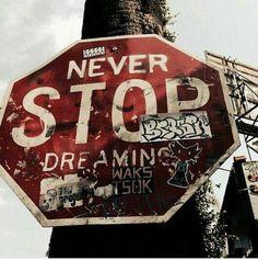 Stop sign graffiti via LSD /London Street-Art Design Magazine