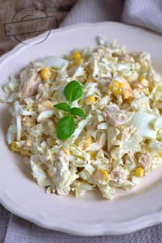 Salad Recipes, Diet Recipes, Cooking Recipes, Healthy Recipes, Snacks Für Party, Tortellini, Coleslaw, Tasty Dishes, Salads