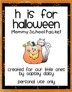 150 best halloween ideas free printables - Free Preschool Halloween Printables