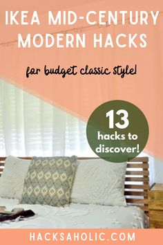 Mid-Century modern is a very popular style and you can recreate it cheaply and easily with some Ikea mid century modern hacks. These are the best mid-century modern hacks we could find. #ikeamidcenturymodernhacks #ikeamidcenturyhacks #ikeahack Ikea Furniture Hacks, Ikea Hacks, Best Ikea, Kallax, Malm, Mid Century Style, Mid-century Modern, Easy Diy, Popular