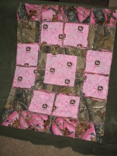 READY TO SHIP  Pink John Deere Realtree by jessicashorsenaround, $55.00