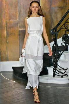 Amanda Wakeley womenswear, spring/summer 2015, London Fashion Week