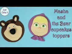 Hi, I would like to share with you my new tutorial for Masha and the Bear cupcakes toppers. They are pretty simple to make and they are cute:) Subscribe to my channel if you like them and want to w...
