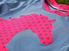 Nadelfee - made by wishcraft: Shirt mit Umlaufpferd ;)