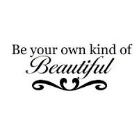 heather's makeup love: Wall Decal Quote
