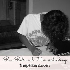 4 Benefits of Pen Pals and Homeschool at ThePelsers.com