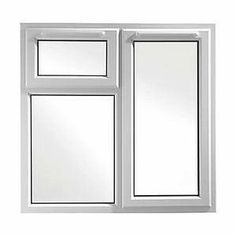 113072 - Wickes Upvc A Rated Casement Window Whi… Casement Windows, Windows And Doors, Yale Locks, Glazed Glass, Air Ventilation, Window Types, Door Price, Friendly Plastic, Windows