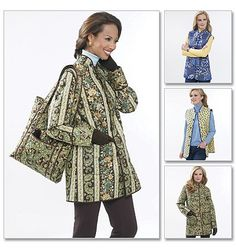 Quilted Jacket Patterns | misses_quilted_jacket_vest_and_tote_patterns_butterick_b5532_c4a90815 ...