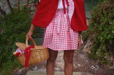 Disfraz de Caperucita Roja de BelandSoph - Disfraces caseros y tiendas - Fiestas y Cumples - Charhadas.com