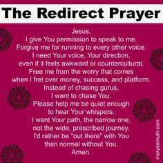 Redirect Jesus