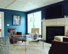 Neal Family Room - Make The TV Disappear
