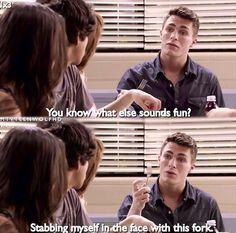 Teen Wolf-Alison, Scott, Lydia, and Jackson. I miss Jackson's sarcasm!