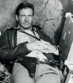 Harrison Ford, my boyfriend, as Indiana Jones. Henry Jones Jr, Harrison Ford Indiana Jones, Indiana Jones 3, Film Mythique, Beautiful Men, Beautiful People, Handsome Actors, Celebrity Crush, Movie Stars