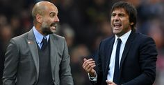 The Differences Between Guardiola and Conte