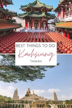 Planning a short getaway or a weekend trip to Kaohsiung? Here are the BEST things to do in Kaohsiung - Taiwan's artsy hub. kaohsiung taiwan | kaohsiung taiwan travel | kaohsiung itinerary | things to do in kaohsiung | kaohsiung taiwan photography Taiwan Travel, Asia Travel, Travel Guides, Travel Tips, Old Street, Weekend Trips, Day Tours, Amazing Destinations, Things To Do