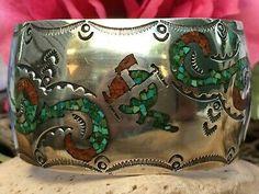 Coral, Turquoise, Navajo, Native American, Ethnic, Jewellery, Bracelet, Ebay, Jewels
