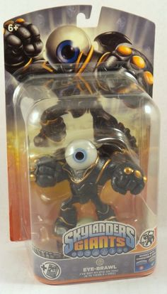 Skylanders Giants Single Character Pack Core Series 2 Eye Brawl Undead NIP #Activision