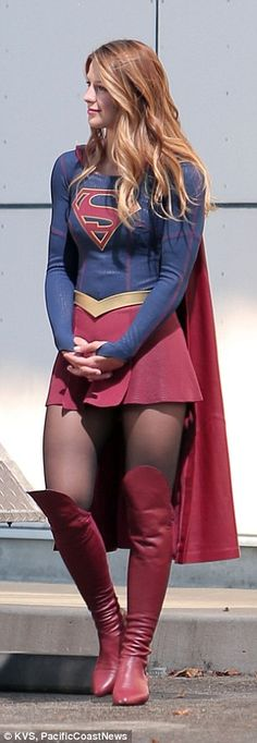 More to come: Supergirl is slated for an 8pm slot on Monday nights in the CBS…