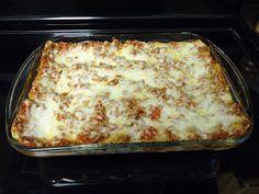 Egg Free Recipe - Cheese Lasagna