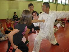 Shaolin Kung Fu Cusano allenamento bambini